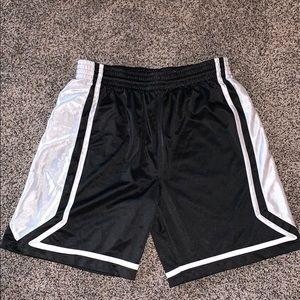 Tek Mens Black Athletic Shorts SZ.L